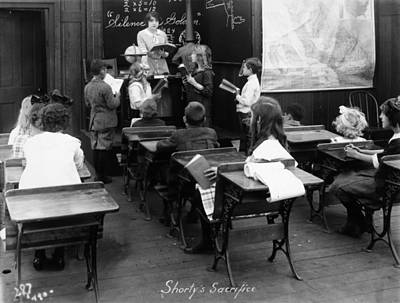 Film Still: Classroom Art Print by Granger