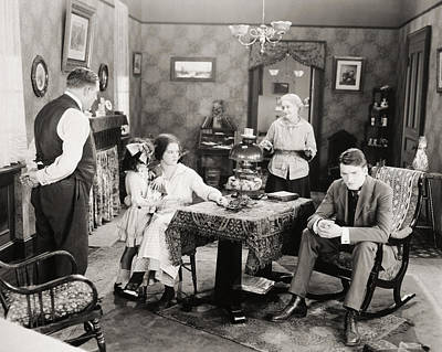 Photograph - Film Still: Poorhouse by Granger