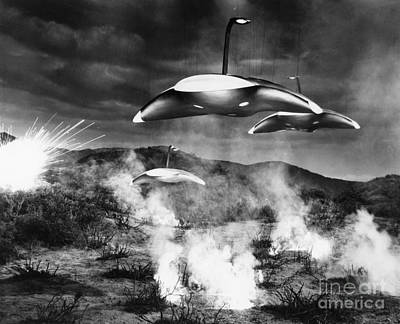 Photograph - Film Still: Ufos by Granger