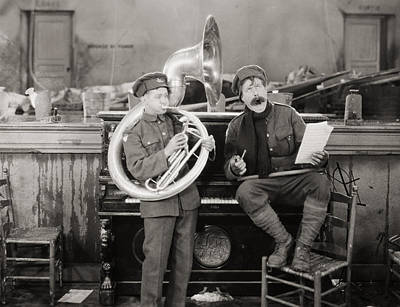 Tubist Photograph - Film: The Better Ole, 1926 by Granger