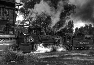 Photograph - Final Evening Steam B by Ken Smith