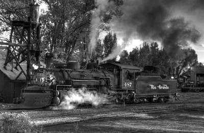 Photograph - Final Evening Steam by Ken Smith