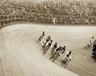 Velodrome Photograph - Final Lap by Archive Holdings Inc.