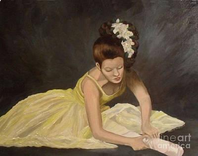 Netting Painting - Final Preparations by Julie Brugh Riffey