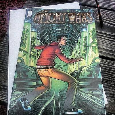 Comics Wall Art - Photograph - Finally Getting To Read The #amorywars by Briana Ramirez