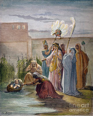Hebrew Stories Photograph - Finding Of Moses by Granger