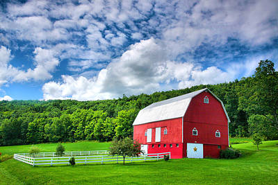 Finger Lakes Barn IIi Art Print