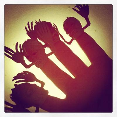 Toys Photograph - Fingerpuppets by Gabe Arroyo