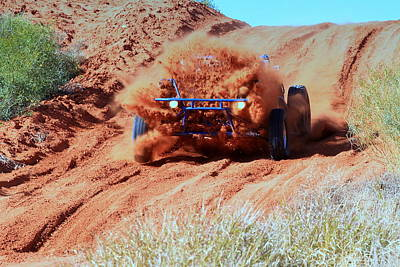 Photograph - Finke Competitor 2011 by Paul Svensen