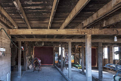 Photograph - Finken Barn Floor by Edward Peterson