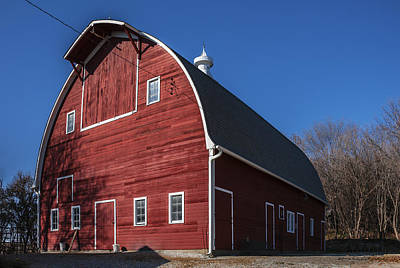 Photograph - Finken Family Barn by Edward Peterson