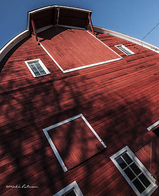 Photograph - Finken Family Barn Front by Edward Peterson