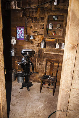 Photograph - Finken Utility Room by Edward Peterson