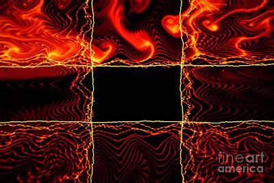 Fire Box Art Print by Tashia Peterman
