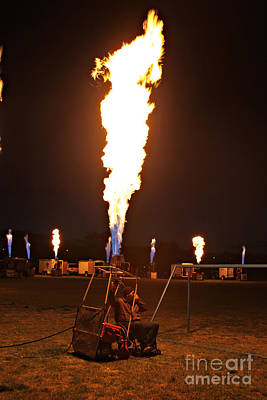 Photograph - Fire Concert 3 by Shawn Naranjo