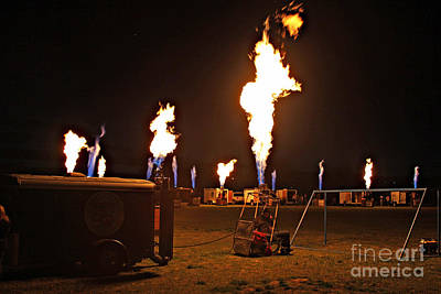 Photograph - Fire Concert 5 by Shawn Naranjo