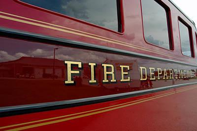 Fire Department Art Print