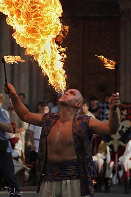 Photograph - Fire Eater by Raffaella Lunelli
