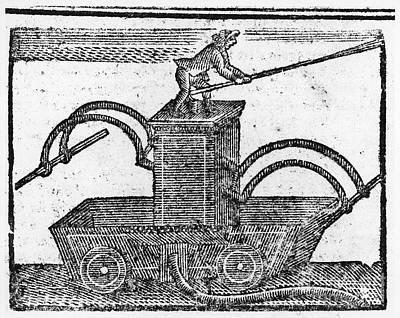 Fire Engine, 1769 Art Print by Granger