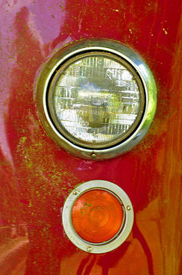 Photograph - Fire Engine Lights by Helen Haw