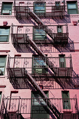 Fire Escape Art Print by Axiom Photographic