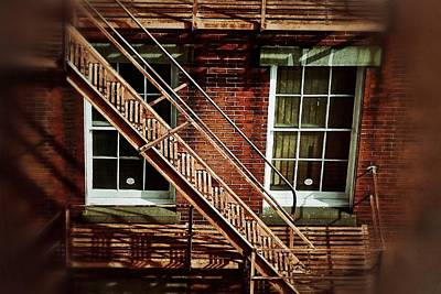 Photograph - Fire Escape by Jim Albritton