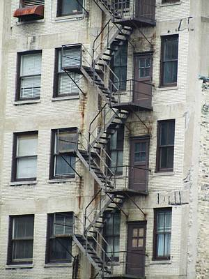 Fire Escape Art Print by Todd Sherlock
