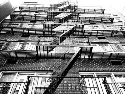 Photograph - Fire Escapes by Pat Moore