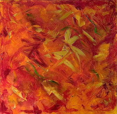 Painting - Fire Fairies by Shannon Grissom