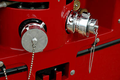 Photograph - Fire Hose Connections by LeeAnn McLaneGoetz McLaneGoetzStudioLLCcom