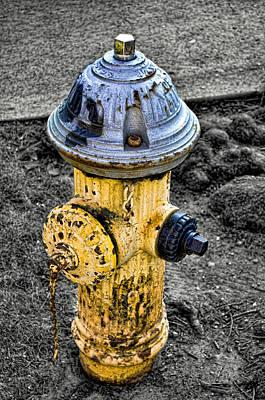 Fire Hydrant Art Print by Bennie Reynolds