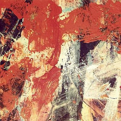 Abstract Wall Art - Photograph - Fire In The Night by Nic Squirrell