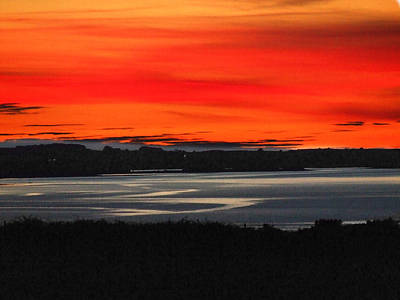 Eddie Armstrong Photograph - Fire In The Sky by Eddie Armstrong