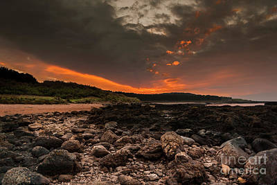Photograph - Fire In The Sky by Tom Migot