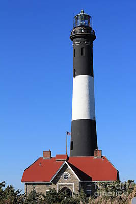 Photograph - Fire Island Lighthouse by Scenesational Photos