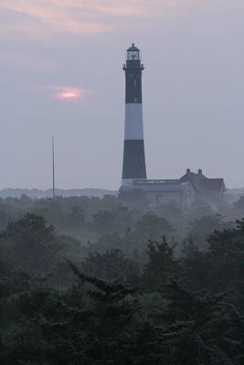 Photograph - Fire Island Mornin Haze by Christopher Kirby
