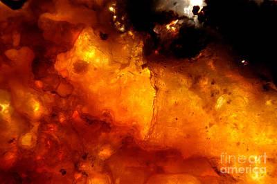 Photograph - Fire Opal by Raul Gonzalez Perez