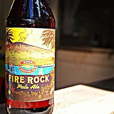 Beer Wall Art - Photograph - Fire Rock by Jessica Daubenmire