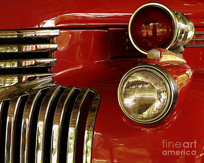 Photograph - Fire Truck  by Nancy Greenland