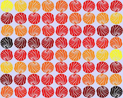 Digital Digital Art - Fireballs by Sumit Mehndiratta