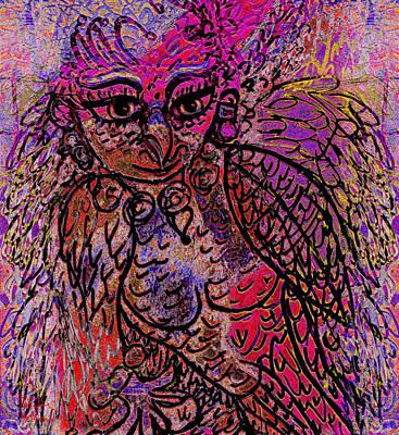Firebird Art Print