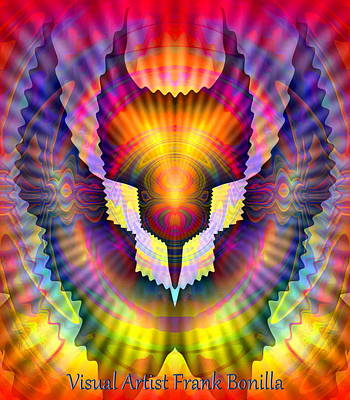 Firebird Art Print by Visual Artist  Frank Bonilla