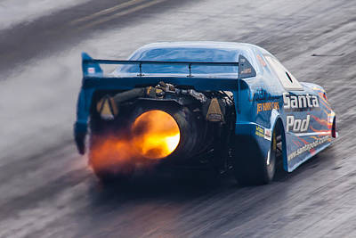 Photograph - Fireforce Jet Funny Car by Ken Brannen