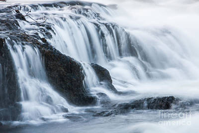 Photograph - Firehole Cascades 5 by Katie LaSalle-Lowery