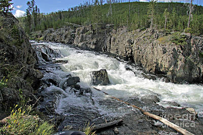 Photograph - Firehole River 3 by Shawn Naranjo
