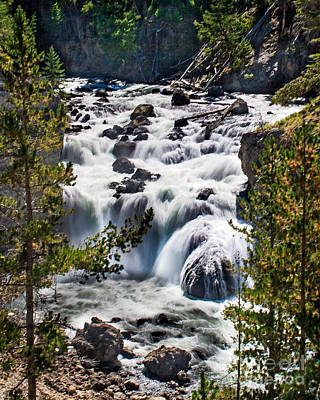 Photograph - Firehole River IIi by Robert Bales