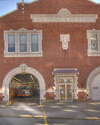 Photograph - Firehouse by Coby Cooper