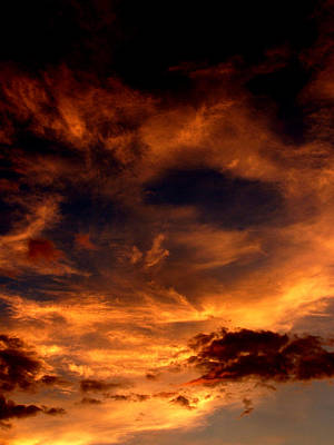 Photograph - Firesky by David Weeks