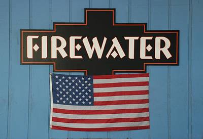 Photograph - Firewater by Rob Hans