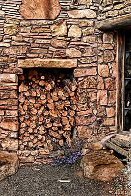 Firewood Art Print by Tom Prendergast